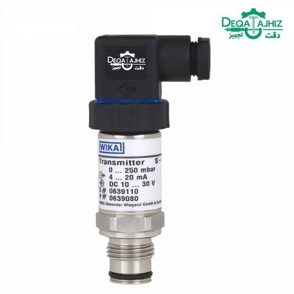 ترانسمیتر فشار ویکا wika pressure transmitter s10