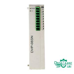 ماژول توسعه PLC دلتا مدل DVP08SN11R